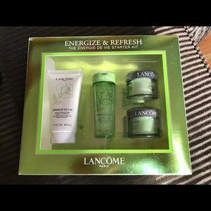 lancome energize & Refresh moisturizer kit starter